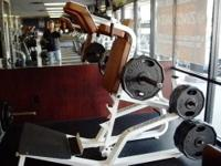 This is an Icarian Super Squat machine. Plate loaded,