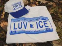 "We have Ice Castle ""LUV ICE"" t- shirts and caps for"