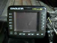 I HAVE AN EAGLE PORTABLE FISH SINDER, 5 INCH ICE AUGER,