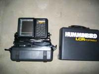 i have a 7 in lazer ice auger and a Humminbird LCR
