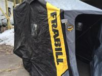Frabill Guardian portable ice shack,$450.00, Jiffy Pro