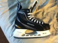 brand new ice skates size 8. 40 value. i was buying