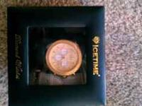 I have a 3 month old ice time iceberg diamond watch