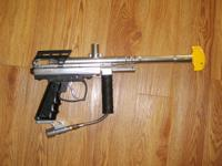 Here is a preowned Icon X paintball gun that i have
