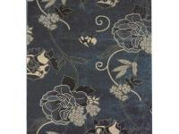The Symphony Area Rug features a beautiful floral