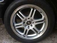 "ICW racing rims. 16x7JJ"" ET40 Universal Rims. One tire"