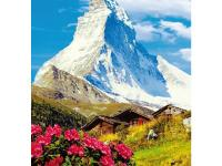 The majestic Matterhorn is a mountain in the Pennine