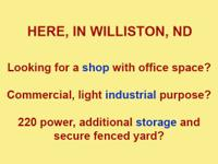 Great shop and office space from 3220 sq ft to 3500 sq