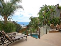 A paramount location, overlooking the Pacific Ocean and