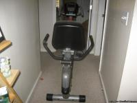 I am selling my Ignite 1726 Recumbent Exercise Bike.