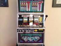 I purchased this machine a few years ago when casinos