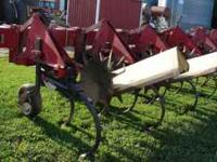 "For Sale: IH 183 12 row 30"" cultivator with rolling and"