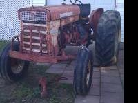 ih 240 utility tractor,new electrical parts. Needs some