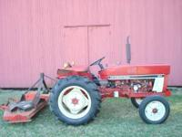 1980's International Harvestor IH 284 Compact Tractor.