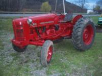 1955 International 300 Utility tractor. New paint,
