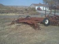 International Harvester model 370 14' disc. Everything