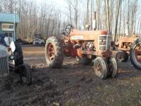 Farmall 450 gas tractor with new hydraulic pump