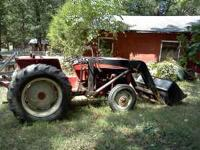 1975 International Harvester 464 Tractor. Runs and