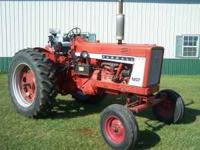 For sale is a solid, good running IH 706 that has a new