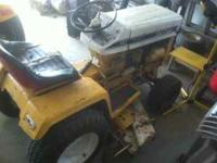 International harvester cub cadet model 147. 14 horse