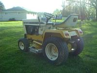 IH Cub Cadet tractor. It has a strong cast iron Kohler