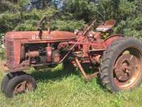 This International Harvester McCormick Farmall Super C