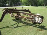 IH hay rake new rear tires ready to go $800 cash call