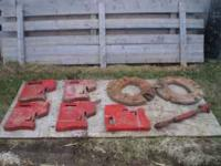 I have 6 front IH weights $600 and 2 solid IH rear