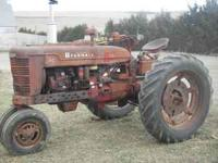 RUNS GOOD POWERSTERRING all original tractor 1