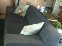 IKEA Kramfors sofa, four years old. Grey tweed