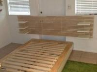Ikea Mandal Full Size Bed **HEAD BOARD NOT INCLUDED**