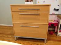 Ikea drawer unit file storage in good condition.