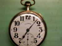 vintage illinois bunn special pocket watch 21 jewel 16