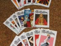 Illustration Magazines for Sale Issue # 9, 11, 13, 15,