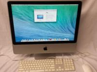 "iMac 20"" Mac OS X 10.9.5 CPU: Intel Core 2 Duo @"