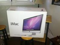 "Selling my iMac 27"" Desktop. Upgrading to a new laptop."