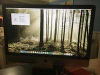 Perfect condition iMac 27inch desktop. Factory reset