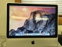 IMAC 20 inch mid 2007.Processor 2.4 GHz Intel Core 2