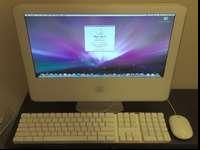 This iMac is is great condition. This photo is of the