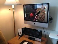 24 inch Imac for sale. Running Yosemite. See pic for
