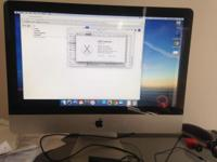 IMac 21.5 inch, processor 2.5 GHz Intel Core I5, 4 Gb