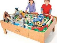 Imaginarium Wooden Train Table - 2 years old - Good