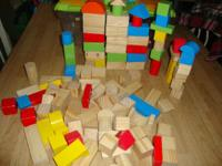 Imaginarium Wooden Block Set - 100-Piece It includes
