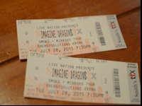 I have two Imagine Dragons General admission concert