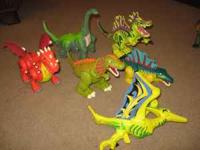 I have several Imaginex dinosaurs for sale. Great for