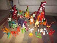 LARGE collection of Imaginex Dinosaurs. Great condition