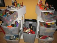 Offering LARGE COLLECTION of Imaginext toys. Please