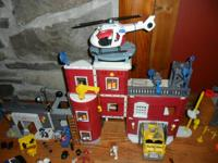 Huge Lot of Imaginext Rescue Hero Play Sets To include: