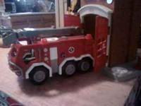 Fisher Price Imaginext Fire Truck Playset ,very hard to