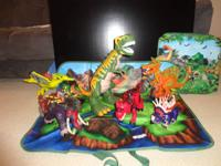 Fisher Price Imaginext 7 Electronic Dinosaurs~2 Roaring
